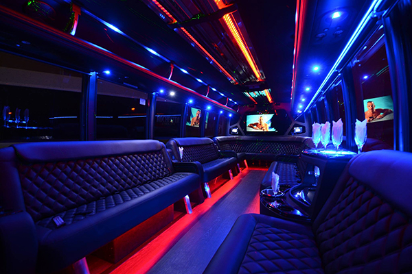 40 Person Party Bus Rental Anaheim
