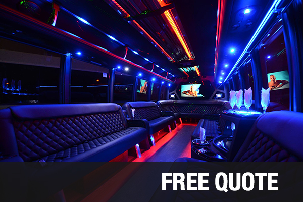 Party Buses For Rental Anaheim