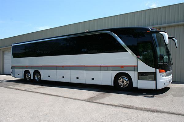 Anaheim 56 Passenger Charter Bus